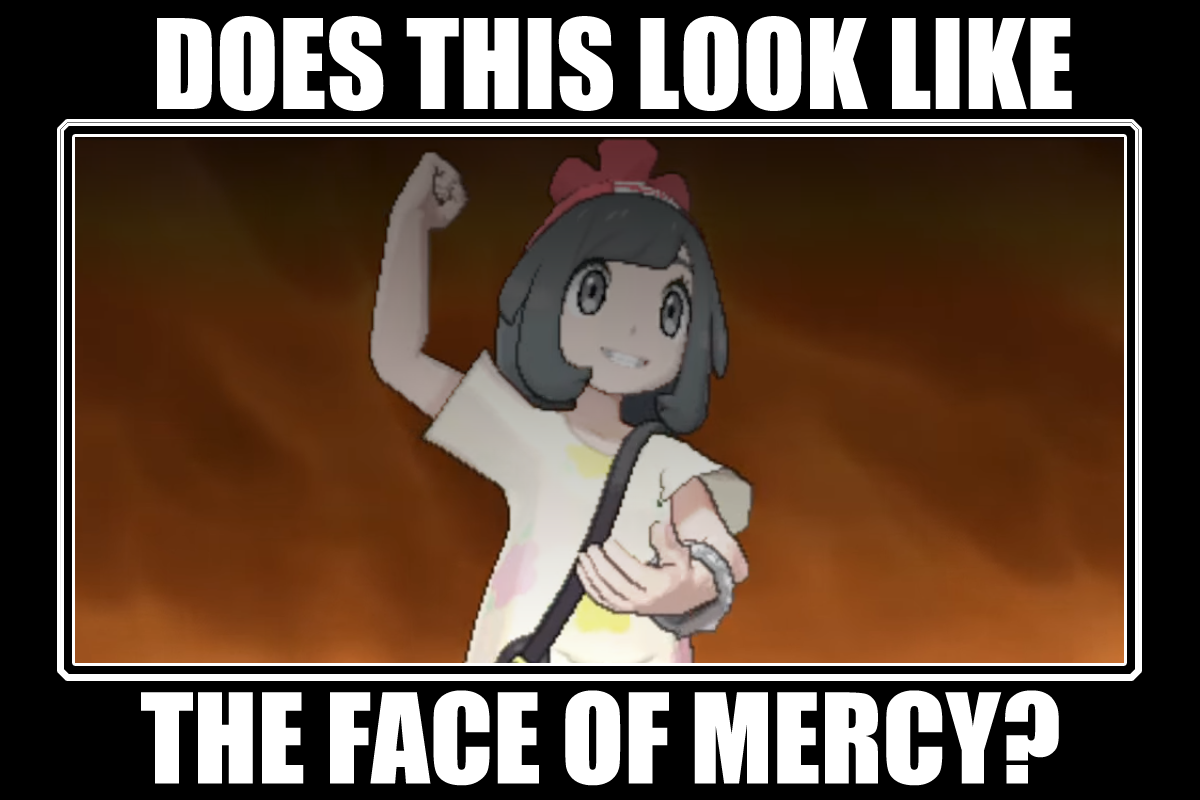 Does this look like the face of mercy a