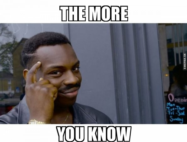 The More You Know Meme